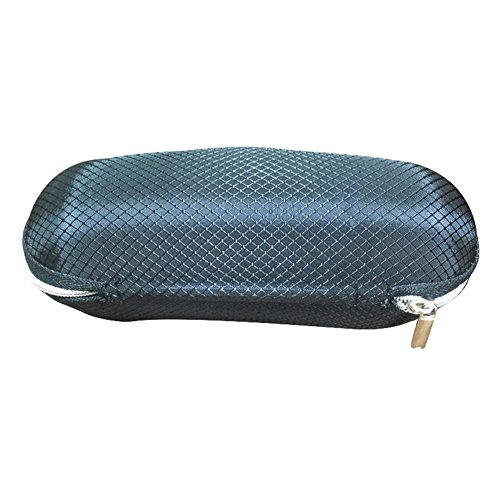 Lubier 1Sonnenbrillen Etui Brillenetui Sport Brillen Brillen passt Unisex Durable Schutz Halter Standard Größe Eye Wear Sonnenbrillen Aufbewahrungsbox, Schwarz, 16,5 x 8 x 5cm
