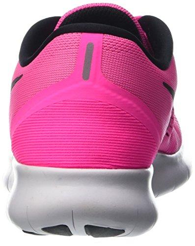 Nike Free Run 831509, Scarpe Running Donna Rosa (Pink Blast/Black-Fire Pink-Wht)