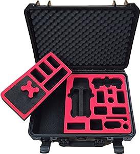 Valise professionnelle pour DJI Mavic Pro avec d`espace pour 3 batteries et accessoires (édition compacte )