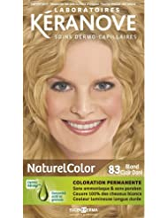 laboratoires kranove coloration permanente naturelcolor 83 blond clair dore - Coloration Keranove