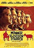 Männer, die auf Ziegen Starren: A (2009) | original Filmplakat, Poster [Din A1, 59 x 84 cm]