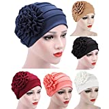 TITAP Women Muslim Stretch Turban Hat Chemo Cap Hair Loss Head Scarf Wrap Hijib Cap