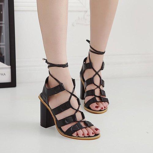 Été Rétro Sandales Chaussures Lvyuanmxx Femme Rome Printemps wq6pXxt