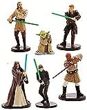 Star Wars Juego de Figurilla Oficial de Disney 6 Jedi