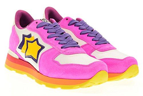 ATLANTIC STARS scarpe donna sneakers basse VEGA UVI 61B Rosa