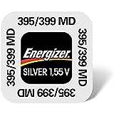 ENERGIZER Lot de 3 Blisters de 1 Pile Oxyde d'Argent pour montres 395/399 SR57