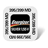One (1) X Energizer 395 SR927SW SB-AP óxido de plata pila de botón para reloj 1,55 V