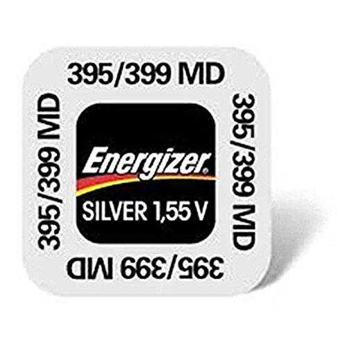 One (1) X Energizer 395 SR927SW SB-AP Silver Oxide Uhren Batterie 1.55v klarsichtverpackt