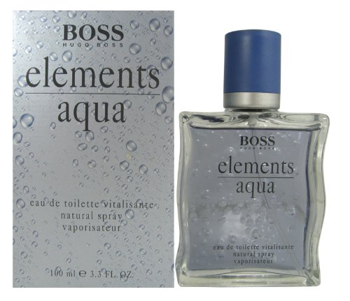 Hugo Boss Boss Elements Aqua, homme/man, Eau de Toilette, 100 ml