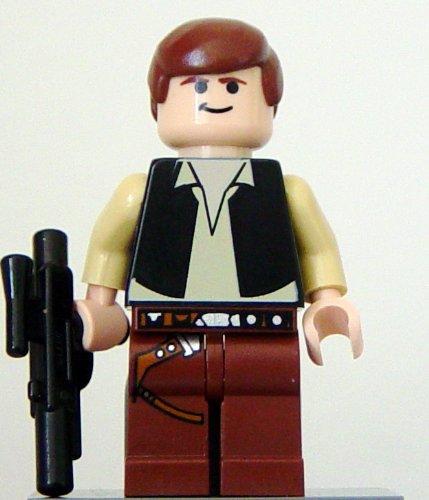 LEGO Star Wars: Death Star Han Solo Minifigura Con Blaster