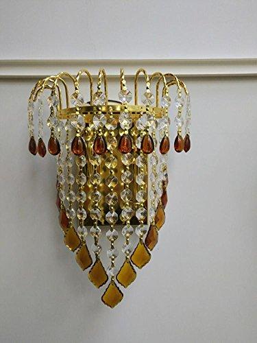FWEF bottoni cristallo petalo parete moderna luce