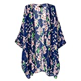 Imported Women Chiffon Floral Loose Blou...