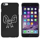 Schwarz 'Bandschleife' Hülle für iPhone 6 Plus & 6s Plus (MC00147167)