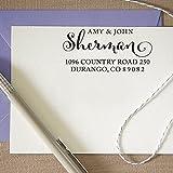 Kundenspezifische Hochzeits-Stempel Personalisierte Stempel Retrun Adresse Geschenk