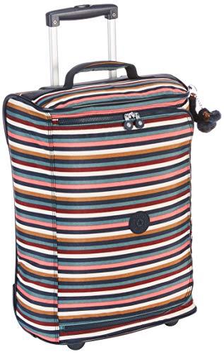 Kipling Teagan XS Equipaje de Mano, 50 cm, 33 Liters, (Multi Stripes)