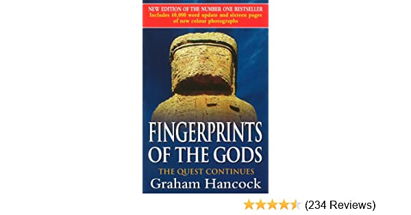 fingerprints of the gods the quest continues new updated edition