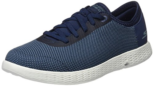 Skechers On The Go Glide Effusive, Zapatillas para Hombre, Azul (Navy), 44 EU