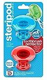 Steripod - Protezione per spazzolino da denti con clip, protegge contro sapone, sporco e capelli, per viaggi, casa, campeggio