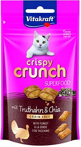 Vitakraft Crispy Crunch, Truthahn + Chia, 60g, 1 stück -