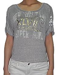 T de la NFL Super Bowl XLVII New Orleans Saints femmes (de look vintage)