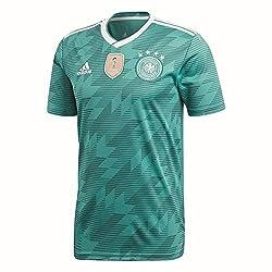 Adidas Herren Dfb Away Jersey 2018 Trikot, Eqt Green S16whitereal Teal S10, M