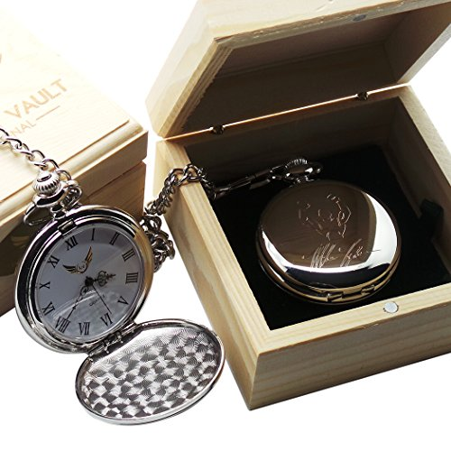 mike-tyson-signed-pocket-watch-silver-plated-autographed-in-wooden-gift-case-collectors-for-boxing-f