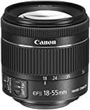 Canon EF-S 18 - 55 mm f/4-5.6 IS STM Lens for Camera - Black