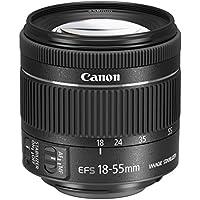 Canon EF-S 18-55 mm f/4-5.6 IS STM Lens for Camera - Black