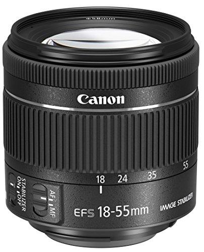 Canon EF-S 18-55mm 1:4,0-5,6 IS STM Objektiv (58mm Filtergewinde) schwarz