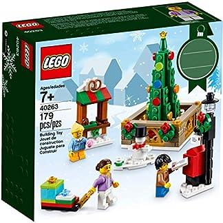 LEGO 40263–Exc Plaza de Ciudad navideña