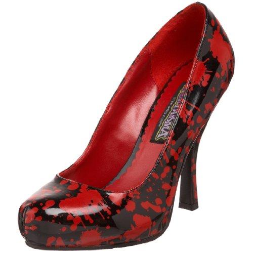 Funtasma , escarpins femme Multicolore - noir/rouge
