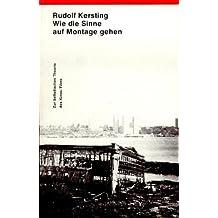 Wie die Sinne auf Montage gehen: Zur ästhetischen Theorie des Kinos /Films (Livre en allemand)