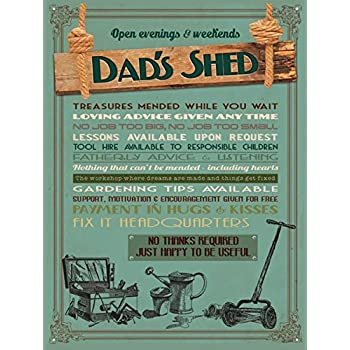 2019 Hanging Door Plaque Home Office Garage Shed Sign Daddy/'s MAN CAVE EST