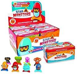 Magic Box Star Monsters, Lata con 8 Figuras P00773