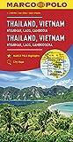MARCO POLO Kontinentalkarte Thailand, Vietnam 1:2 500 000: Myanmar, Laos, Kambodscha (MARCO POLO Kontinental /Länderkarten) - Collectif
