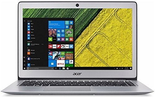 Acer Swift 3 SF314-52-584R 14-Inch LCD Ultrabook - (Sparkly Silver) (Intel i5-8250U 1.6 GHz, 8 GB RAM, 256 GB SSD, Windows 10 Home)