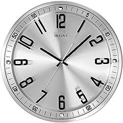 Bulova C4646silueta reloj, acabado en acero inoxidable cepillado