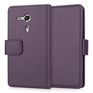 Yousave Accessories PU Leather Wallet For Sony Xperia SP