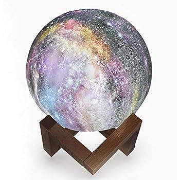 Grande Lampe Lune 3d Decoration Maison Lampe De Chevet