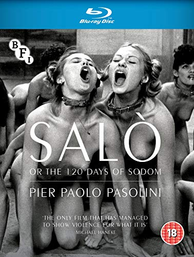. - SALO OR THE 120 DAYS OF SODOM REISSUE BLURAY (1 BLU-RAY)