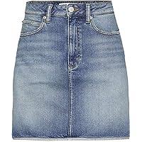 Calvin Klein Calvin Klein A Line Skirt For Women - Denim For, 26 US, Blue-J20J208806-DNM