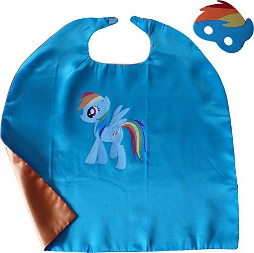 My Little Pony Rainbow Dash Kindes Umhang & Maske (My Little Pony Maske)