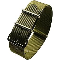 italianice cn-green-22it-Nylon Strap, Green (22)