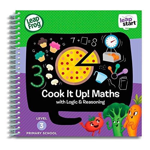 LeapFrog LeapStart - livre d'activités pour école primaire: Initiez-vous à la cuisine! Les mathématiques avec Logique & Raisonnement (français non garanti)