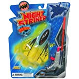 POOF-Slinky - Night Striker Mini Foam Plane with Red Light and Spring Loaded Launcher, 2155BL by Poof (English Manual)
