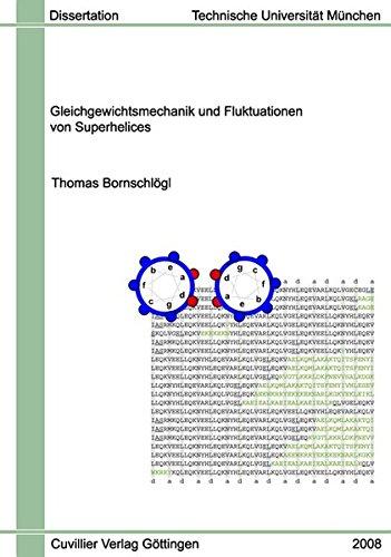 Gleichgewichtsmechanik und Fluktuationen von Superhelices