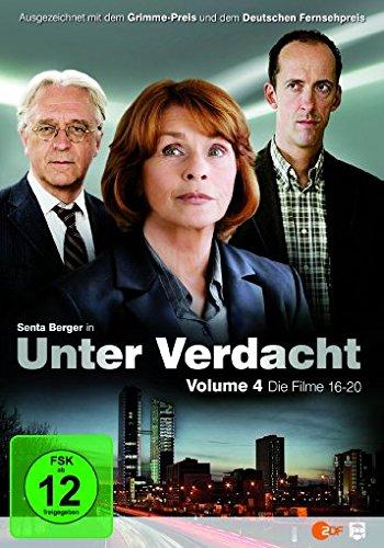Unter Verdacht - Volume 4/Filme 16-20 [3 DVDs]