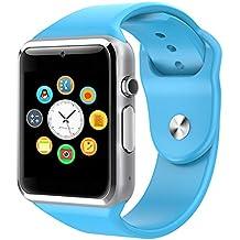 ef79cb9af018 2016 nuevo A1 Bluetooth Smart Watch Wristphone relojes para Apple iPhone 2  6 Samsung S4