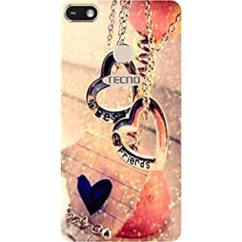 lowest price dbd33 3a745 BuyFeb Stylish Design Premium Look Back Case Cover with: Amazon.in ...