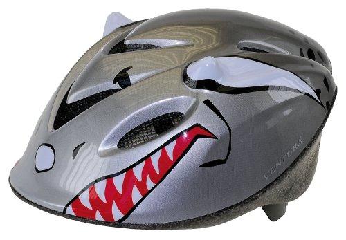 Ventura Kinderhelm Hai, grau, 50-57 cm